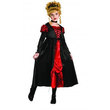 Girls Transylvanian Vampiress Costume - HalloweenCostumes4U.com - Kids Costumes