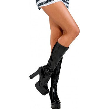 Knee High Boots - Various Colors - HalloweenCostumes4U.com - Accessories - 1