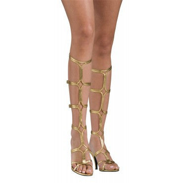 Goddess Sandals - HalloweenCostumes4U.com - Accessories