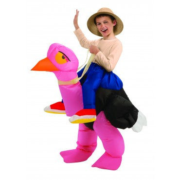 Kids Inflatable Ostrich Costume - HalloweenCostumes4U.com - Kids Costumes