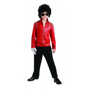 Boys Michael Jackson Beat It Jacket - HalloweenCostumes4U.com - Kids Costumes