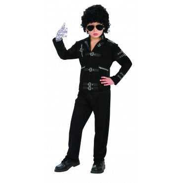 Boys Michael Jackson Bad Jacket - HalloweenCostumes4U.com - Kids Costumes