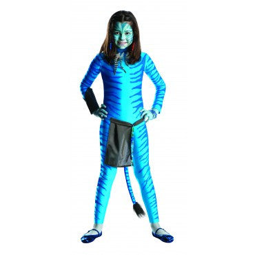 Girls Avatar Neytiri Costume - HalloweenCostumes4U.com - Kids Costumes