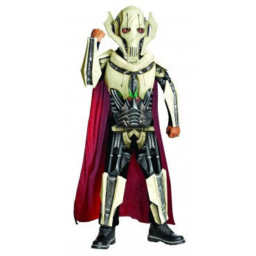 Boys Star Wars Deluxe General Grievous Costume - HalloweenCostumes4U.com - Kids Costumes