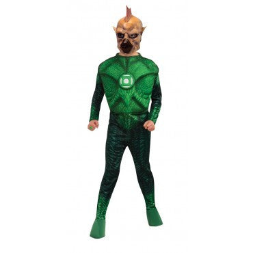 Boys Green Lantern Deluxe Tomar-Re Costume - HalloweenCostumes4U.com - Kids Costumes