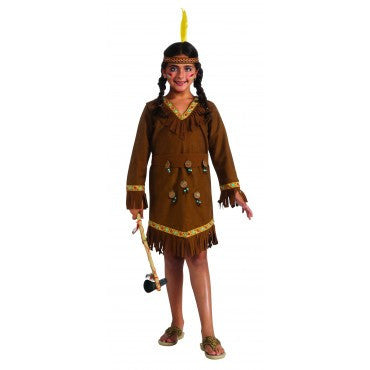 Girls Native American Costume - HalloweenCostumes4U.com - Kids Costumes