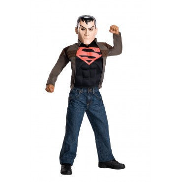 Boys Young Justice Superboy Costume - HalloweenCostumes4U.com - Kids Costumes