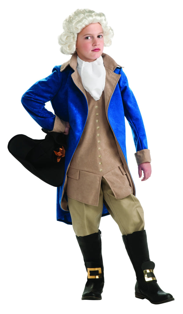 Boys Deluxe George Washington Costume