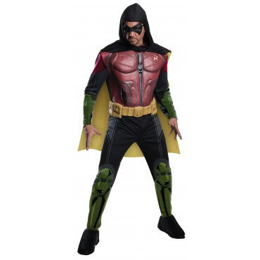 Mens Batman Robin Muscle Chest Costume - HalloweenCostumes4U.com - Adult Costumes