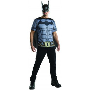 Mens Batman Costume Top - HalloweenCostumes4U.com - Adult Costumes