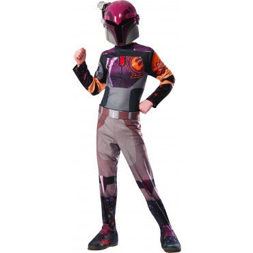 Girls Star Wars Sabine Costume - HalloweenCostumes4U.com - Kids Costumes
