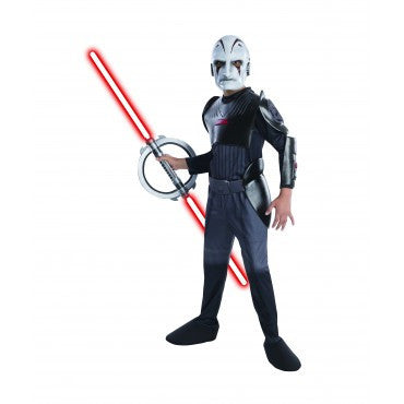 Boys Star Wars Deluxe The Inquisitor Costume - HalloweenCostumes4U.com - Kids Costumes