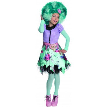 Girls Monster High Honey Swamp Costume - HalloweenCostumes4U.com - Kids Costumes