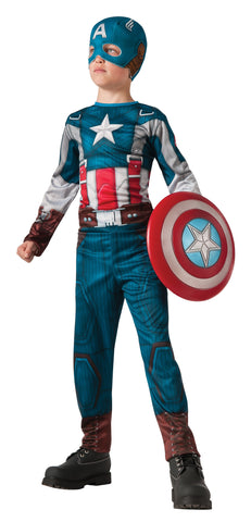 Boys Captain America Retro Suit Costume