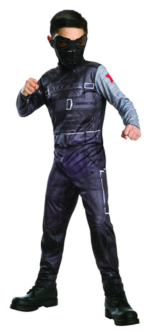 Boys Captain America Winter Soldier Costume