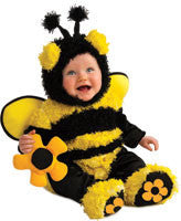 Infants/Toddlers Buzzy Bee Costume - HalloweenCostumes4U.com - Infant & Toddler Costumes