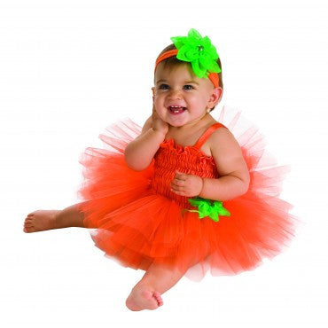 Infants Pumpkin Tutu Costume - HalloweenCostumes4U.com - Infant & Toddler Costumes