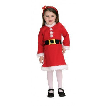 Infants/Toddlers Santa Dress - HalloweenCostumes4U.com - Infant & Toddler Costumes