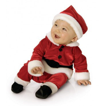 Infants/Toddlers Velvet Santa Suit - HalloweenCostumes4U.com - Infant & Toddler Costumes