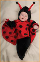 Infants Ladybug Costume - HalloweenCostumes4U.com - Infant & Toddler Costumes
