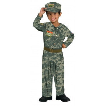 Boys Soldier Costume - HalloweenCostumes4U.com - Kids Costumes