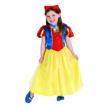 Girls Snow White Costume - HalloweenCostumes4U.com - Kids Costumes