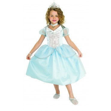 Girls Crystal Princess Costume - HalloweenCostumes4U.com - Kids Costumes