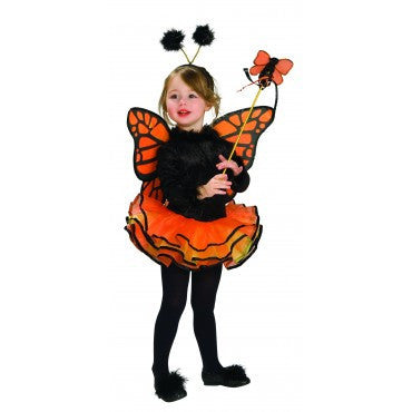 Girls Monarch Butterfly Costume - HalloweenCostumes4U.com - Kids Costumes