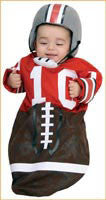 Infants Football Player Costume - HalloweenCostumes4U.com - Infant & Toddler Costumes