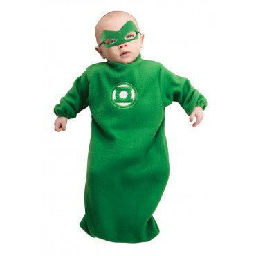 Infants Green Lantern Hal Jordan Bunting Costume - HalloweenCostumes4U.com - Infant & Toddler Costumes