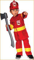 Infants/Toddlers Junior Firefighter Costume - HalloweenCostumes4U.com - Infant & Toddler Costumes