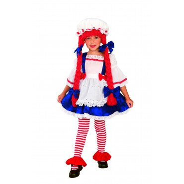 Girls Rag Doll Costume - HalloweenCostumes4U.com - Kids Costumes