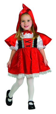 Toddlers Little Red Riding Hood Costume - HalloweenCostumes4U.com - Infant & Toddler Costumes