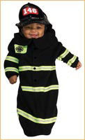 Infants Firefighter Costume - HalloweenCostumes4U.com - Infant & Toddler Costumes