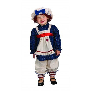 Infants/Toddlers Ragamuffin Dolly Costume - HalloweenCostumes4U.com - Infant & Toddler Costumes