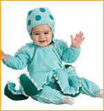 Infants/Toddlers Octopus Costume - HalloweenCostumes4U.com - Infant & Toddler Costumes