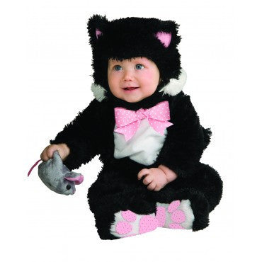 Infants/Toddlers Inky Black Kitty Costume - HalloweenCostumes4U.com - Infant & Toddler Costumes