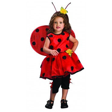 Girls Ladybug Costume - HalloweenCostumes4U.com - Kids Costumes