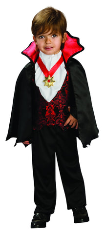 Toddlers Transylvanian Vampire Costume - HalloweenCostumes4U.com - Infant & Toddler Costumes