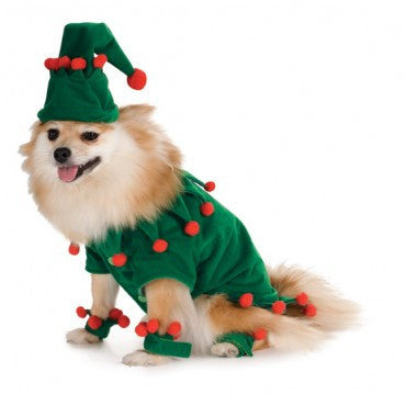 Pets Elf Costume - HalloweenCostumes4U.com - Pet Costumes & Accessories