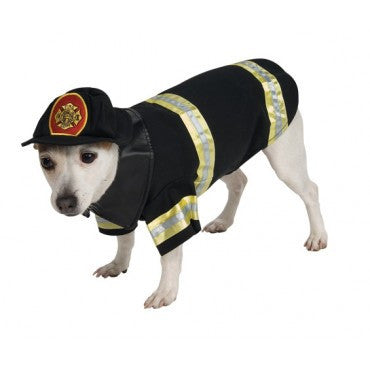 Pets Firefighter Costume - HalloweenCostumes4U.com - Pet Costumes & Accessories