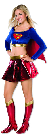 Teens Supergirl Costume - HalloweenCostumes4U.com - Adult Costumes