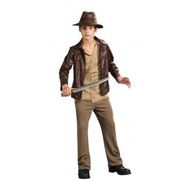 Teen Deluxe Indiana Jones Costume - HalloweenCostumes4U.com - Adult Costumes