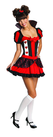 Teen Queen of Hearts Costume - HalloweenCostumes4U.com - Adult Costumes
