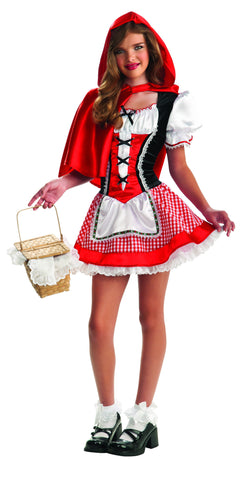 Teens Red Riding Hood Costume - HalloweenCostumes4U.com - Adult Costumes