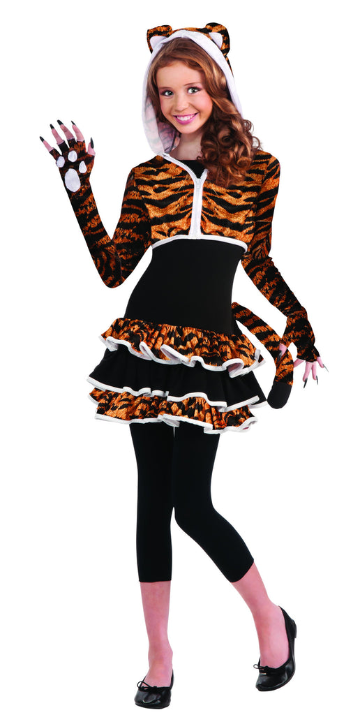 Teens Tiger Costume - HalloweenCostumes4U.com - Adult Costumes