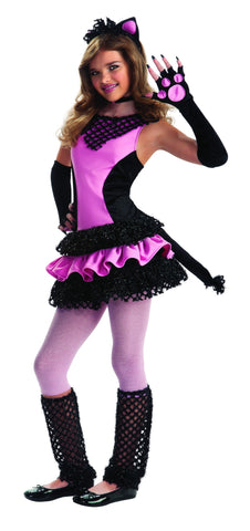 Teens Black Kitty Costume