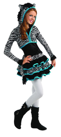 Teens Zebra Costume - HalloweenCostumes4U.com - Adult Costumes