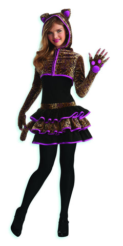 Teens Leopard Costume