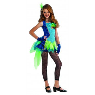 Girls Peacock Costume - HalloweenCostumes4U.com - Kids Costumes